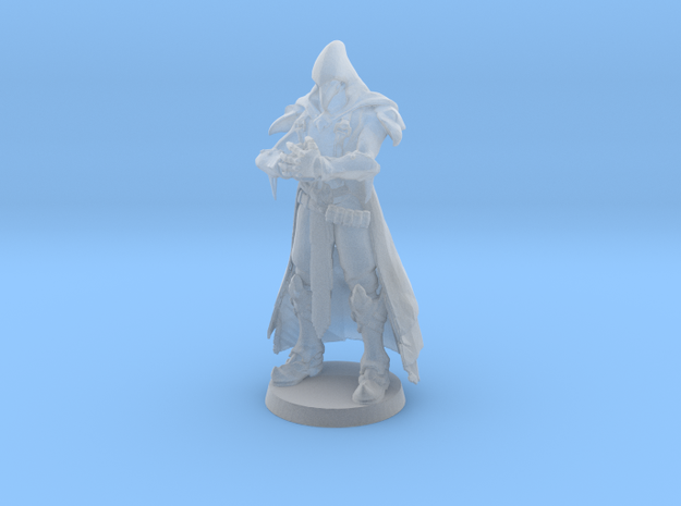 Death Cleric in Smooth Fine Detail Plastic