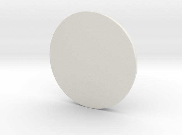 wooden floor base in White Natural Versatile Plastic