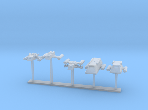 Confederation Auxiliaries in Smooth Fine Detail Plastic