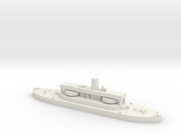 HMAS Cerberus in White Natural Versatile Plastic