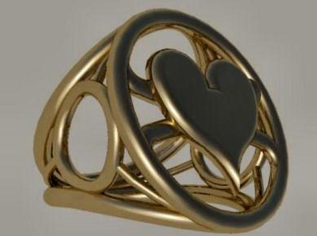 Size 22 0 mm LFC Hearts 3d printed