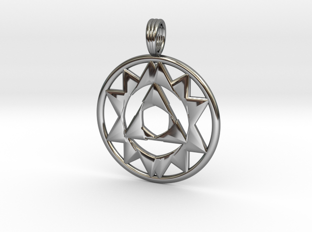 TRIOCULUS in Fine Detail Polished Silver