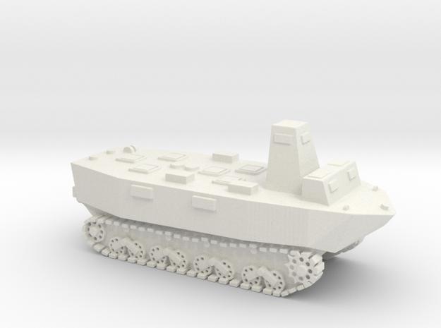 WWII Japanese Ka-Tsu tank 1/100 without torpedos in White Natural Versatile Plastic