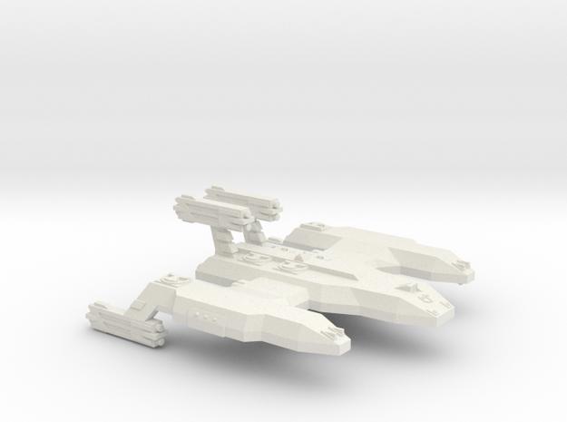 3125 Scale LDR Cave Lion Battleship (BB) CVN in White Natural Versatile Plastic
