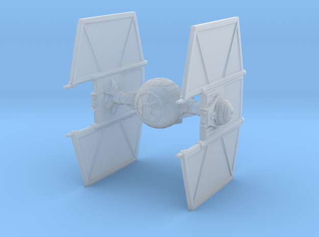 Tie Fighter with Hyper-drive / Hyper-panels in Smooth Fine Detail Plastic