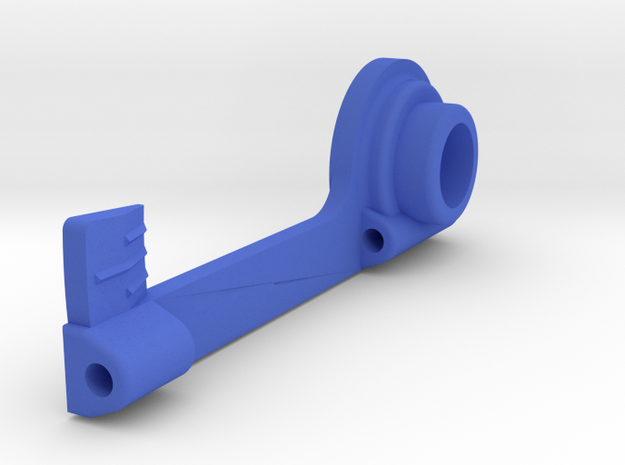 Handle-o-Meter - Arm in Blue Processed Versatile Plastic