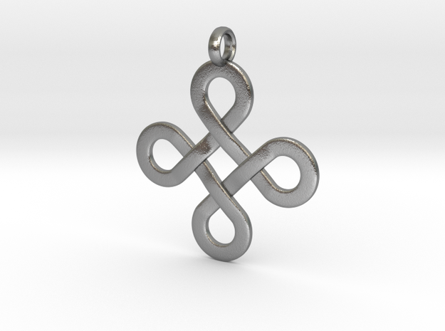 Celticknot Pendant in Natural Silver