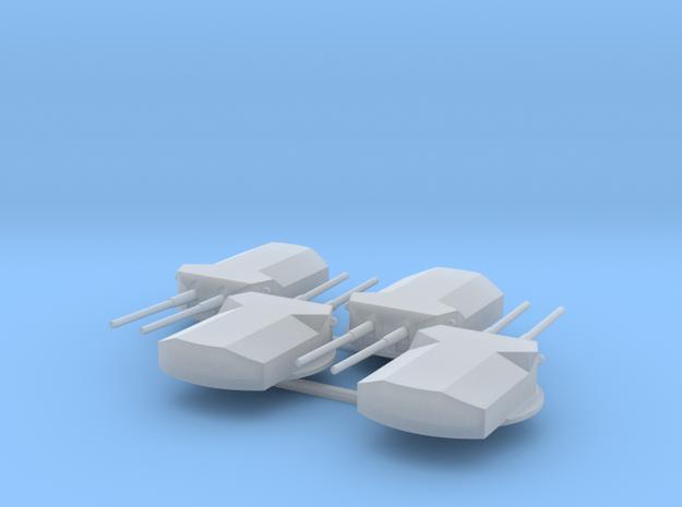 1:700 SMS Ersatz Yorck Turrets in Smoothest Fine Detail Plastic