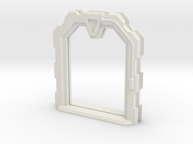 Sci-Fi Door Open (Extra Large) in White Natural Versatile Plastic