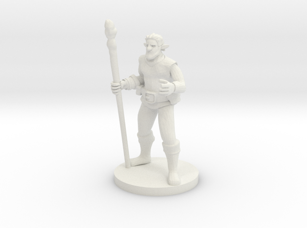 Forest Guardian Caster in White Natural Versatile Plastic
