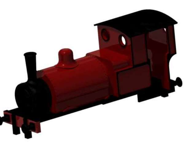 Sir Haydn in White Processed Versatile Plastic