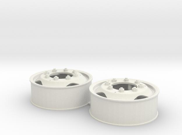 DAF velgen 40 x16 met driehoekgat in White Natural Versatile Plastic