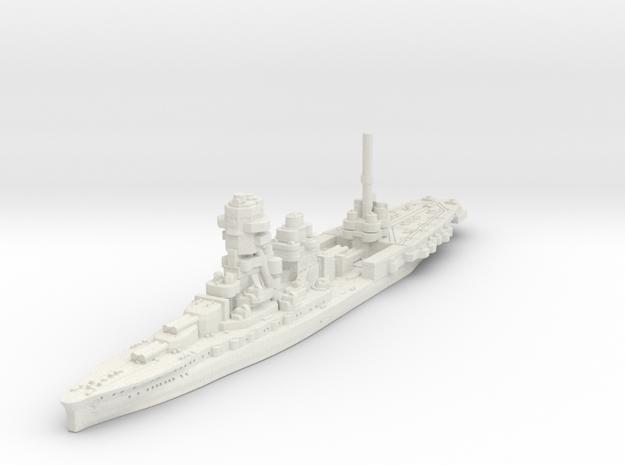 Ise -1944 Conversion (Hybrid Carrier/Battleship) in White Natural Versatile Plastic