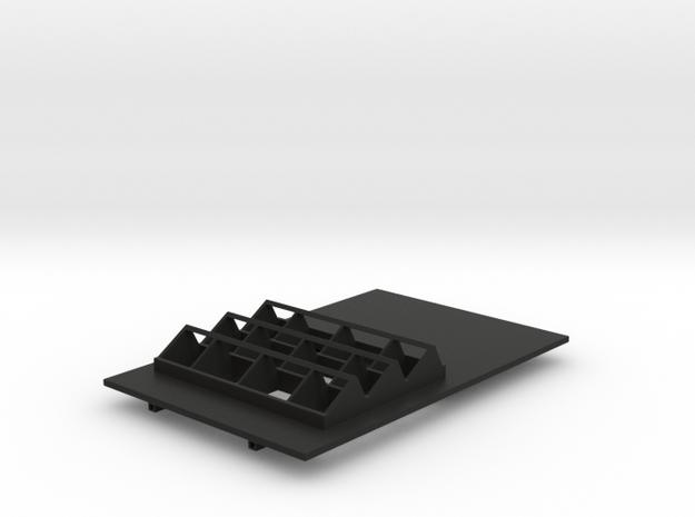 Roof & Bay Lights in Black Natural Versatile Plastic