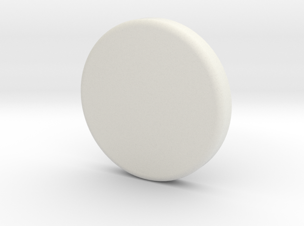 Light Bucket Light Cover Round in White Natural Versatile Plastic: 1:10
