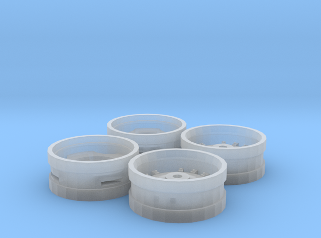 AC 8000/7000 Series Rims in Smooth Fine Detail Plastic