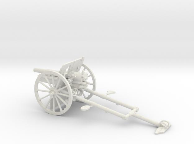 1/30 IJA Type 41 75mm Mountain Gun in White Natural Versatile Plastic