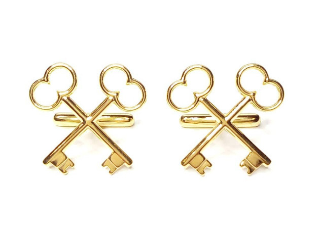 The Society of the Crossed Keys Cufflinks
