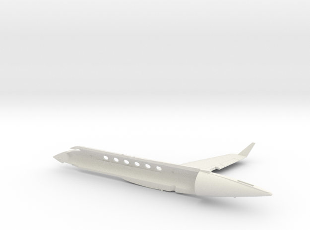 01-GIVSP-144scale-Airframe-Stbdside-2 in White Natural Versatile Plastic