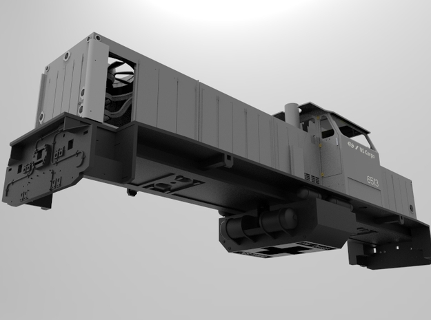 NS 6400 frame. Scale 1 (1:32) in White Natural Versatile Plastic