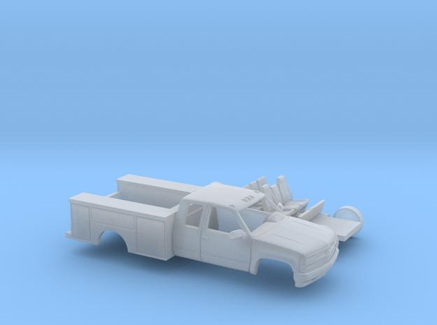 1/160 1990-98 Chevy Silverado ExtCab Utility Kit in Smooth Fine Detail Plastic