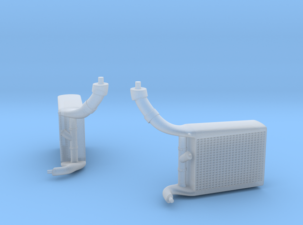 late version intercoolers for the 1/20th McLaren M