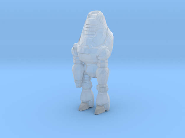 Assistant Bot in Smooth Fine Detail Plastic