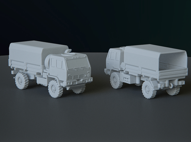 M1078 Covered scale: 1:200 in Smooth Fine Detail Plastic