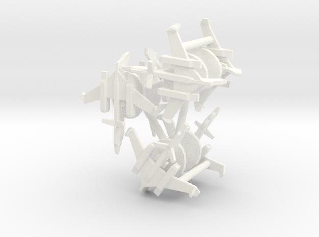 6x E-11D 1/700 in White Processed Versatile Plastic