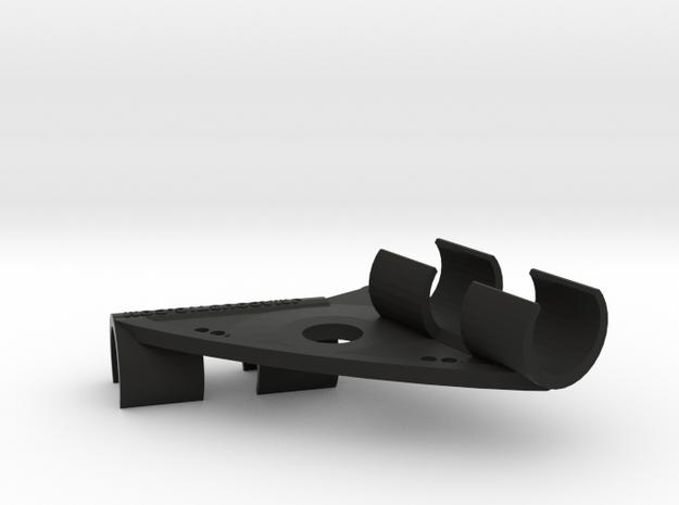ORTF Stereo Mic Clip 23mm in Black Natural Versatile Plastic