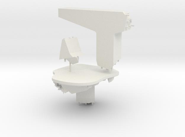 highway Type B terrain model in White Natural Versatile Plastic