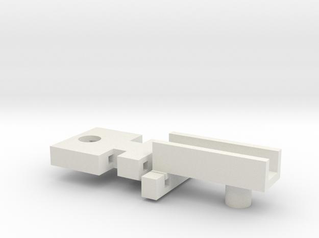 Shorty-Verlängerung in White Strong & Flexible