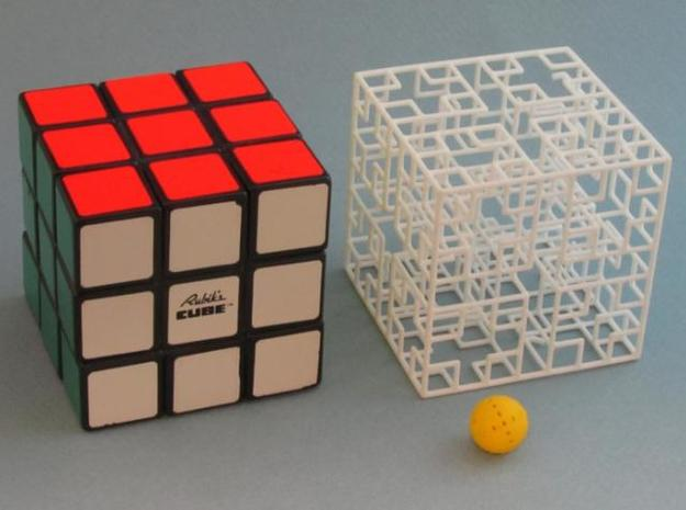 Mix-pack 4 - Big 3d printed same size as Rubik's Cube - Minotaur's Castle
