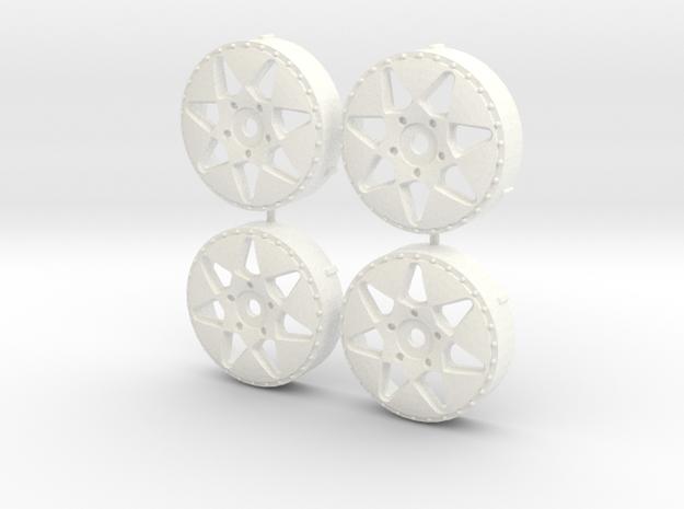 MST / VIP Modular VX310 Insert (x4) in White Processed Versatile Plastic