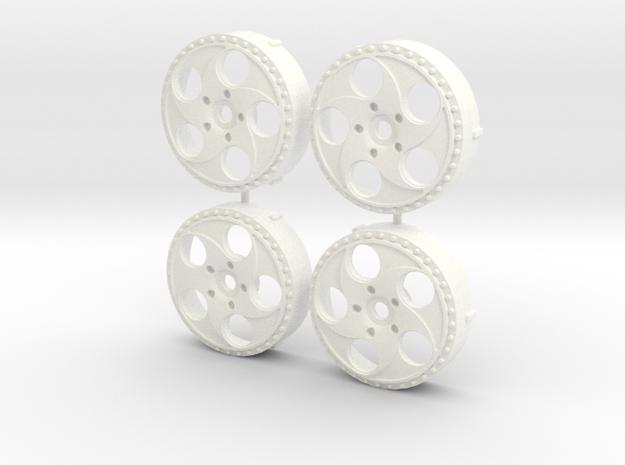 MST / VIP Modular VX610 Insert (x4) in White Processed Versatile Plastic