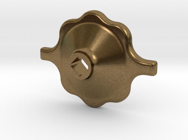 "1.5"" Scale South African Medium Valve Handwheel in Natural Bronze"