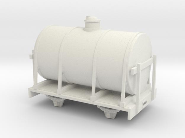 1:32/1:35 tank wagon long in White Natural Versatile Plastic