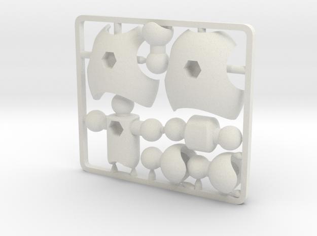 Ultra-poseable Chest Upgrade Kit for ModiBot
