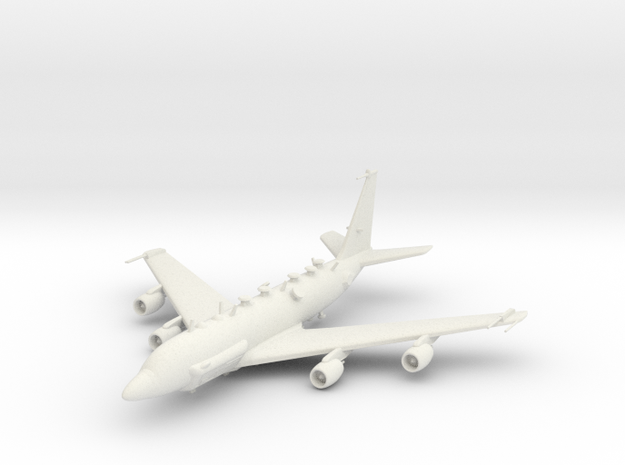Boeing RC-135 in White Strong & Flexible