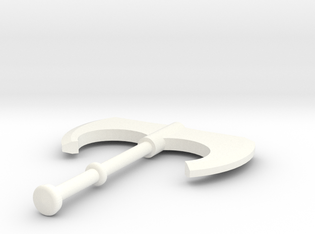 skurge axe in White Processed Versatile Plastic
