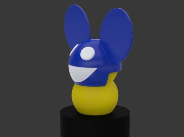 My Keepon Deadmau5 Superstar DJmask 3d printed