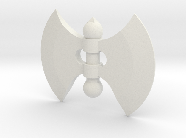 Battle Axe Hand for ModiBot in White Natural Versatile Plastic