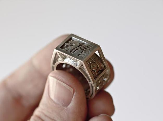 LIVERPOOL FC fan ring - size U 3d printed
