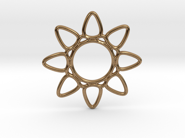 4d4  in Natural Brass