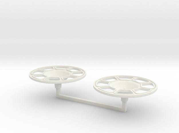 Brake Wheel 2x 1/16 Scale