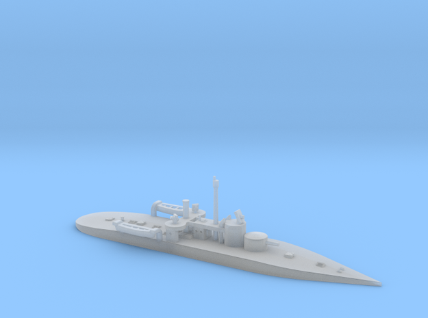 1/1250th scale SMS Leitha (1894) in Smooth Fine Detail Plastic