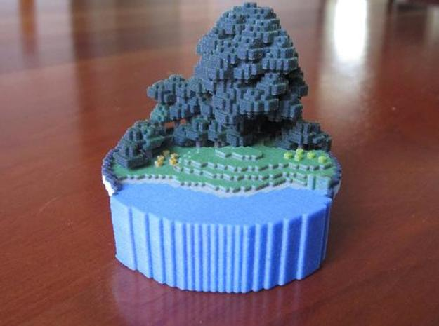 Small World in a Bowl 3d printed front