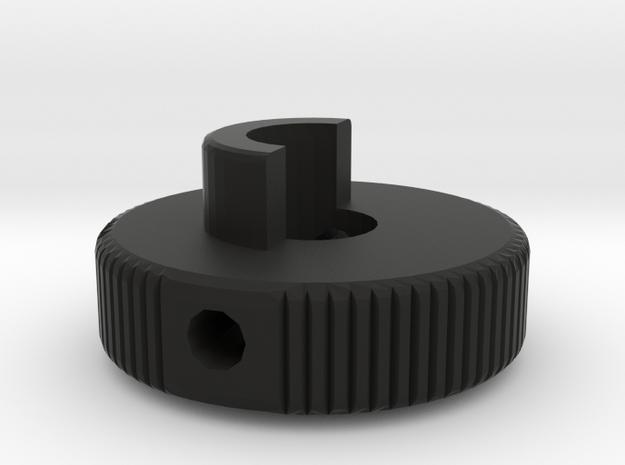 Receiver Knob AGM MP40 in Black Natural Versatile Plastic