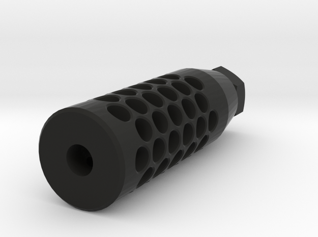 Enigma Compensator (14mm-) in Black Natural Versatile Plastic