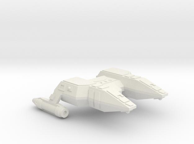3125 Scale Lyran Refitted Manx Police Corvette CVN in White Natural Versatile Plastic